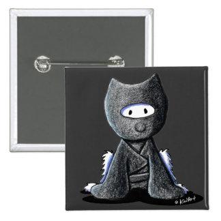 Ninja Westie Buttons