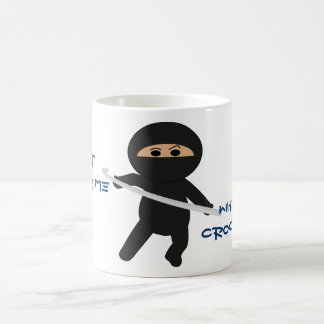 Ninja With Crochet Hook Mug