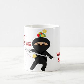 Ninja With Sewing Needle Mug