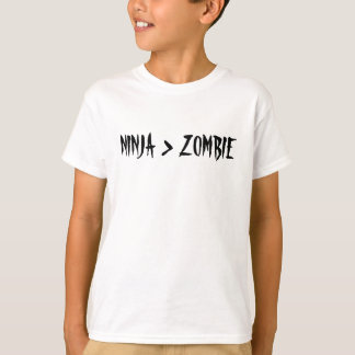 NINJA > ZOMBIE T-Shirt