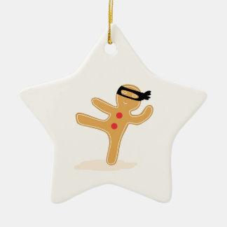 Ninjabread Man Christmas Ornament