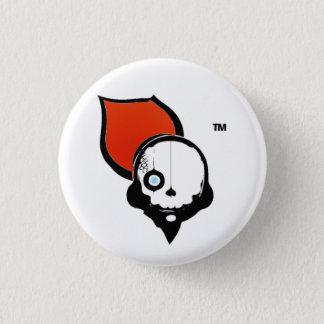NinjaCruise Skull 3 Cm Round Badge