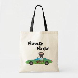 Ninja'd Tote Bag - A Nawty Ninja design