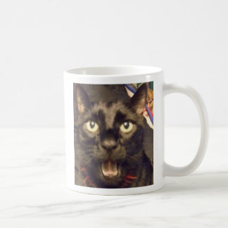 Ninja's got somethin' to say! coffee mug