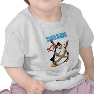 Ninjuin - The Ninja Penguin T Shirt