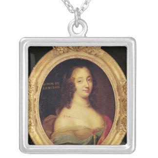 Ninon de Lenclos Silver Plated Necklace