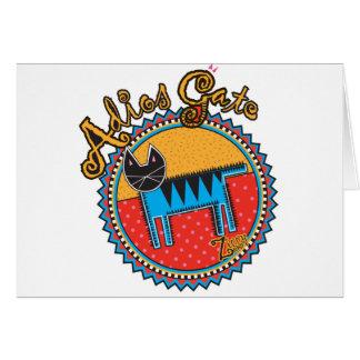 Niños Adios Gato Cards
