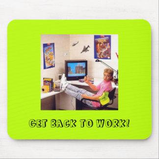 Nintendo Power 80's Dude: A Motivational Mousepad