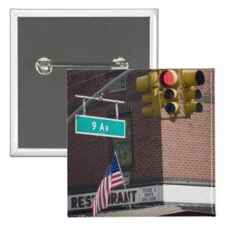 Ninth Avenue 15 Cm Square Badge
