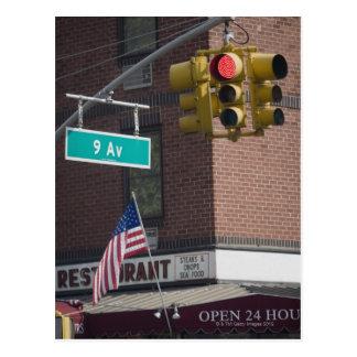 Ninth Avenue Postcard
