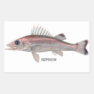 NIPHON RECTANGULAR STICKER