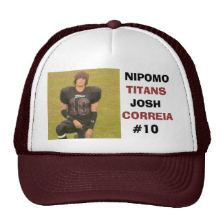NIPOMO FOOTBALL HAT