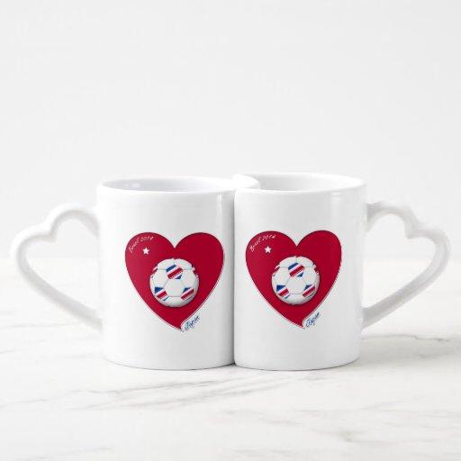 Nippon Japanese National Soccer Team Japan 2014 Couples Mug