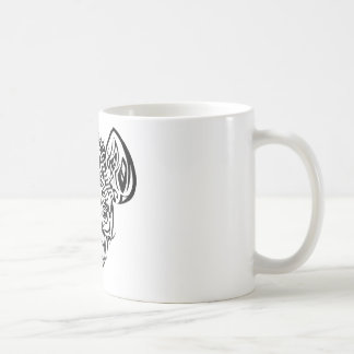 Nire's Hyena Tribal Design Coffee Mug