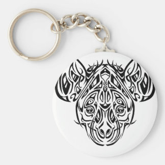 Nire's Hyena Tribal Design Key Ring