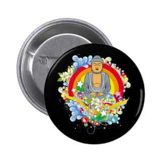 Nirvana Buddha 6 Cm Round Badge