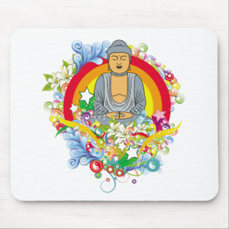Nirvana Buddha Mouse Mat