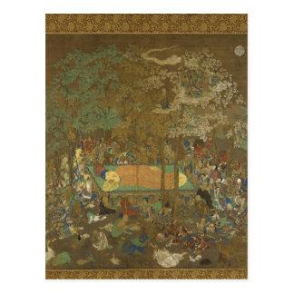 Nirvana of the Buddha Postcard