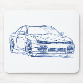 Nis Silva S14 1995 Mouse Pad