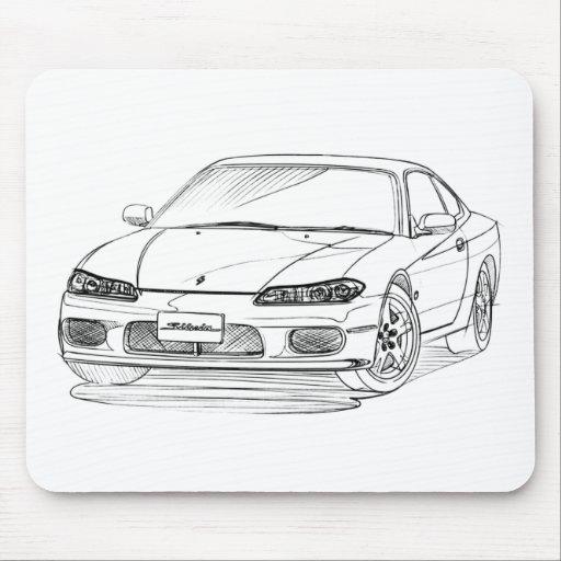 Nis Silvia S15 1999 Mouse Pad