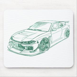 Nis Silvia S15 Drift custom Mouse Mat