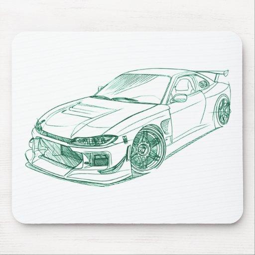 Nis Silvia S15 Drift custom Mouse Pad