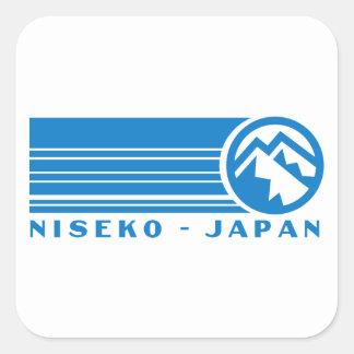 Niseko Ski Japan Square Sticker