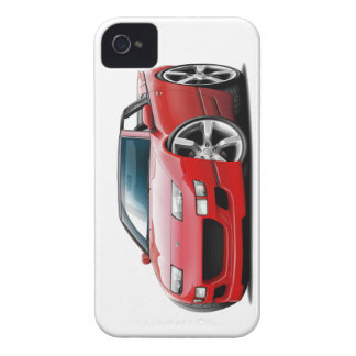 Nissan 300ZX Red Convertible iPhone 4 Covers