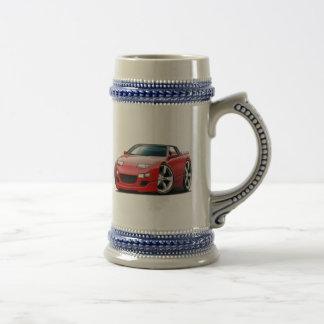 Nissan 300ZX Red Convertible Mugs