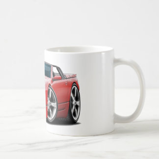 Nissan 300ZX Red Convertible Coffee Mugs
