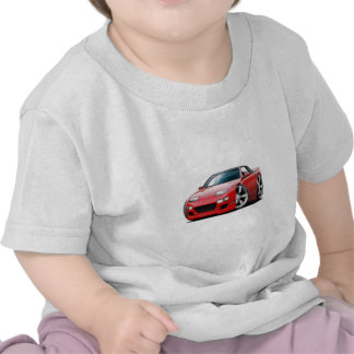 Nissan 300ZX Red Convertible Tshirt