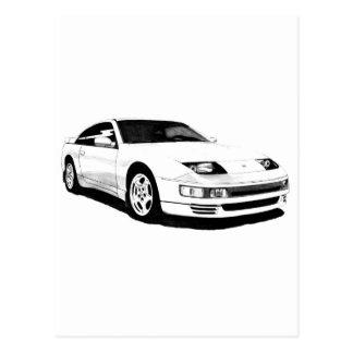 Nissan 300ZX Twin Turbo Postcard