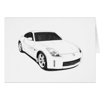 Nissan 350Z Artwork Card