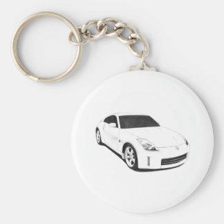Nissan 350Z Artwork Key Chains