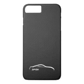 Nissan 350Z White Silhouette Logo iPhone 8 Plus/7 Plus Case