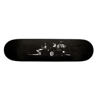 Nissan 370z 18.1 cm old school skateboard deck