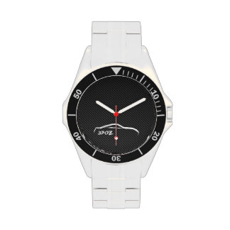 Nissan 370Z White Silhouette Watches