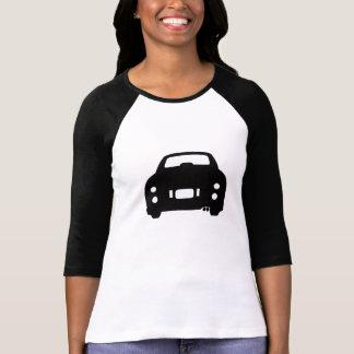 Nissan Figaro Black Car Silhouette T-Shirt