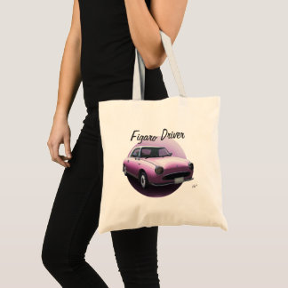 Nissan Figaro Driver Special Pink Car Tote Bag
