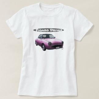 Nissan Figaro Driver T Shirt Special Pink