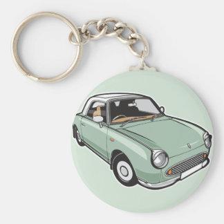 Nissan Figaro Emerald Green Key Ring