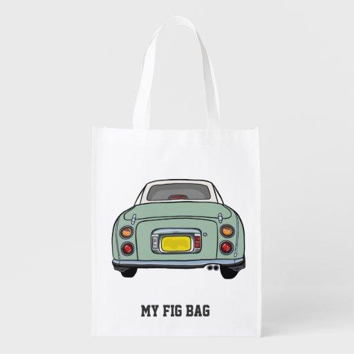 Nissan Figaro Emerald Green My Fig Bag