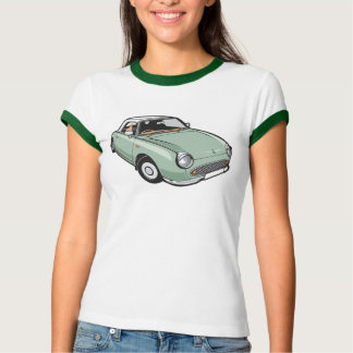 Nissan Figaro Emerald Green T-Shirt