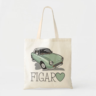 Nissan Figaro Emerald Green Tote Bag