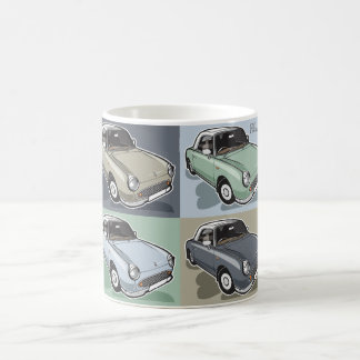 Nissan Figaro in four colors Coffee Mug