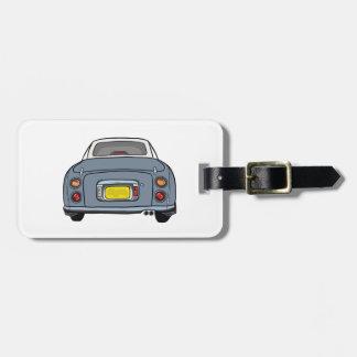 Nissan Figaro - Lapis Gray  Luggage Tag
