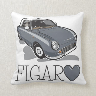 Nissan Figaro Lapiz Grey Cushion