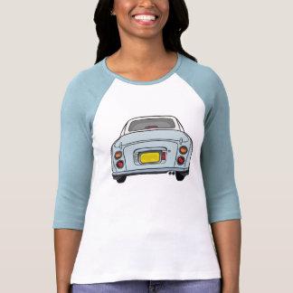 Nissan Figaro - Pale Aqua - 3/4 sleeve Shirt