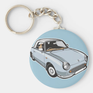 Nissan Figaro Pale Aqua Key Ring
