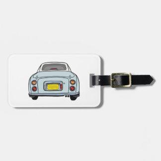 Nissan Figaro - Pale Aqua-  Luggage Tag